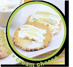 もえぎの×クリームチーズ
