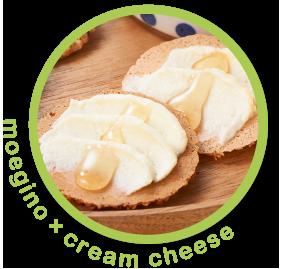 もえぎ野×クリームチーズ